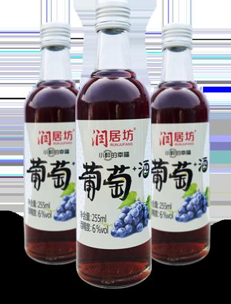 潤居坊葡萄+酒